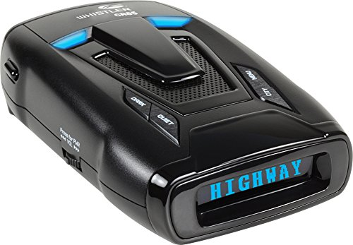 Whistler CR85 High Performance Laser Radar Detector: 360 Degree Protection and Voice Alerts