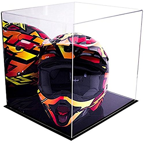 Better Display Cases Acrylic Deluxe Display Case with Mirror - Large Rectangle Box 16
