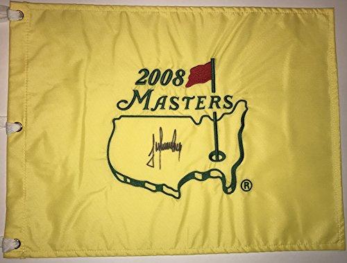 TREVOR IMMELMAN Signed 2008 Masters Golf Pin FLAG Pga