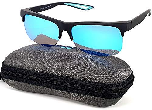 (Fit Over Polarized Sunglasses Driving Clip on Sunglasses to Wear Over Prescription Glasses)