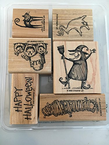 Stampin' Up! Spooktacular Greetings Stamp -