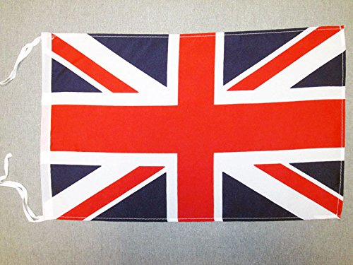 AZ FLAG United Kingdom Flag 18'' x 12'' Cords - UK - British - England Small Flags 30 x 45cm - Banner 18x12 in