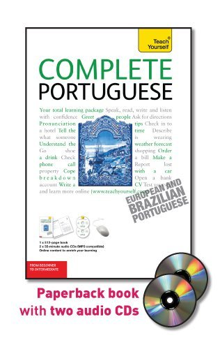 Complete Portuguese with Two Audio CDs: A Teach Yourself Guide (Teach Yourself Language) by McGraw-Hill