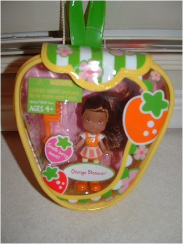 Strawberry Shortcake Hasbro Mini Doll in Purse Orange Blossom Version 1 - Orange Blossom Strawberry Shortcake