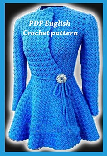 Amazon Com Crochet Patterns Princess Crochet Sweater 2470 Crochet