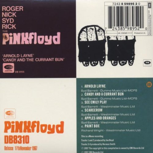 amazon 1967 singles sampler pink floyd ヘヴィーメタル 音楽