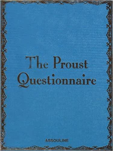 Αποτέλεσμα εικόνας για proust questionnaire