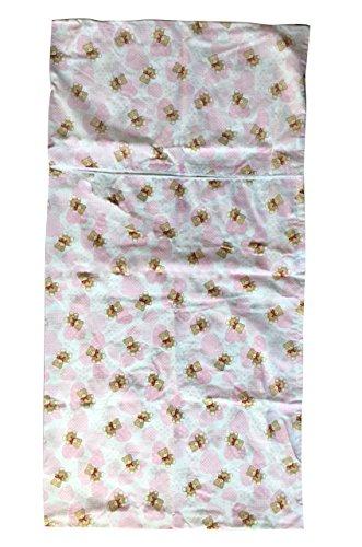 Saco dormir Guardería Verano osos corazones rosa 2 - 6 años: Amazon.es: Bebé