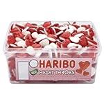 Haribo Heart Throbs 300 Pieces Per Tub