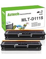 Aztech 2 Pack Compatibile per Samsung MLT-D111S cartuccia di toner per Samsung Xpress M2070FW M2070 M2070W M2026W N2026 SL-M2070W SL-M2022W SL-M2020W SL-M2026W SL-M2070FW SL-M2020 SL-M2026 SL-M2070