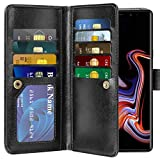 Vofolen Galaxy Note 9 Case Wallet Card Holder Flip Cover Note 9 Case 2-in-1 Detachable PU Leather Holster Magnetic Protective Slim Shell ID Slot Pocket Folio Case for Samsung Galaxy Note 9 (Black) Review