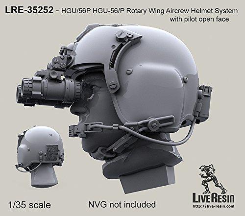 ライブ樹脂1: 35HGU 56p hgu-56/ Pヘリコプターヘルメット# 1–樹脂詳細# lre35252
