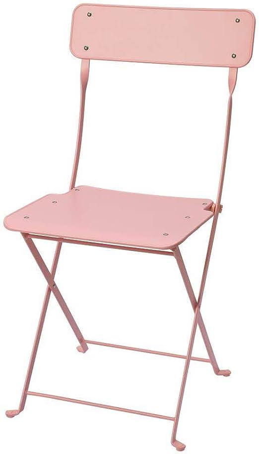 Ikea Sedie Pieghevoli Giardino.Ikea Asia Saltholmen Sedia Pieghevole Da Esterni Colore Rosa