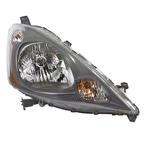 Bumper Head Light Right Side Fit 09-13 Honda Fit Base 1.5L HO2503138 ()