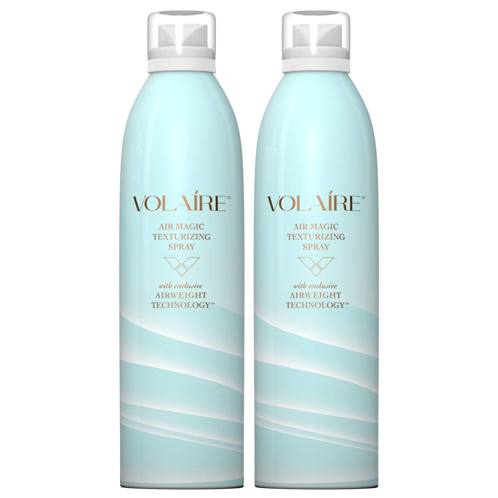 Volaire Air Magic Texturizing Spray – Volume-Building Multitasker for Hair | Sulfate Free | Paraben Free | Safe for Color Treated Hair, 10.1 Oz (2 Pack)