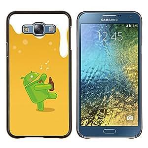 TECHCASE---Cubierta de la caja de protección para la piel dura ** Samsung Galaxy E7 E700 ** --Dunk Android