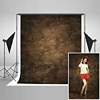 Kate 5x7ft / 1.5x2.2m Photography Backdrops Retro Solid Brown Background for Photographers Photo Studio Props J04303
