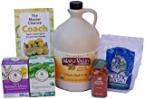 Maple Valley 16 Day Organic Master Cleanse Lemonade Detox/ Diet Kit with Book the Master Cleanse Coach
