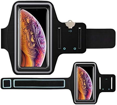[해외]Njjex Cell Phone Armband[2 Pack] Phone HolderAdjustable Arm Band & Reflective Border Sports Running Armband for iPhone XXSXRXS Max678 PlusGalaxy S10S10ES10 PlusS9S8S7Note 9Note8 / Njjex Cell Phone Armband[2 Pack] Phone HolderAdjust...