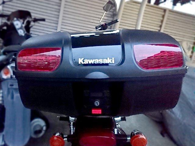 AG-86BK-ブラック:AG-背もたれ付:オシャレなデザイン高品質で頑丈!-Kawasaki-GIVIモノキーベースにも装着できるタイプです。【GIVIモノキーベース=GIVIモノキーケース取付用】