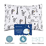 Toddler Pillows with Pillowcase,Soft Cotton Kids Children's Pillows 13X18 for Girls Boys Sleeping,Washable