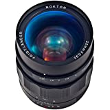 Voigtlander Nokton 25mm f/0.95 Type II Manual Focus Lens for Micro 4/3 Mount