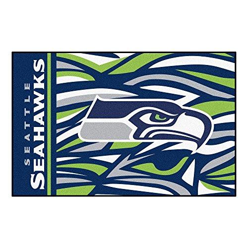 FANMATS NFL Seattle Seahawks NFL - Seattle Seahawksstarter Mat, Team Color, One Sized