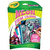 Crayola Xtreme Coloring, Neon, Monster High