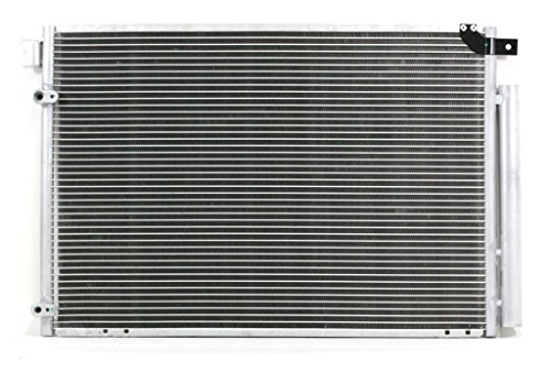 A-C Condenser - Pacific Best Inc For/Fit 4012 02-06 Mazda MPV Van With Dryer (Feb'04-'06 Without Rocker ()