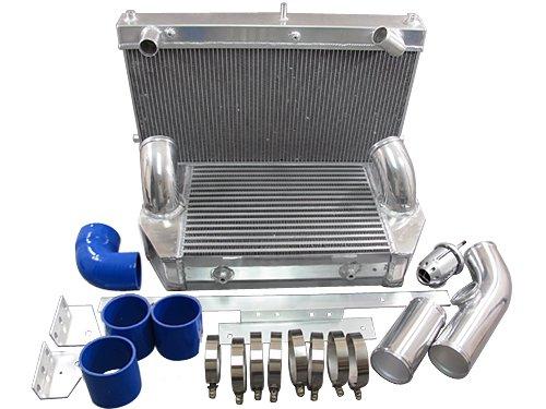 (Intercooler and Radiator V-Mount kit For 92-02 Mazda RX7 FD)