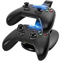 Base Carregador Suporte Controle Xbox One X-box Dock duplo Qualidade