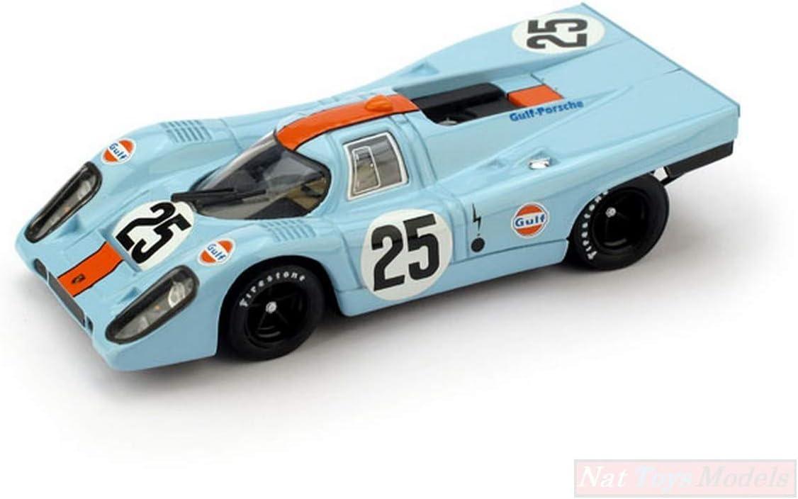 Brumm BM0556UPD Porsche 917K Gulf N.25 DNF 1970 P.Rodriguez-L.KINNUNEN 1:43 Compatible avec