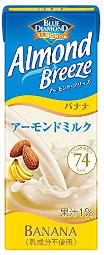 200mlX24 this Blue Diamond Almond Breeze banana by Marsan eye