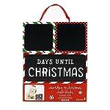 Tiny Ideas Countdown to Christmas Photo Sharing Chalkboard Blocks, Red/Green/White/Black