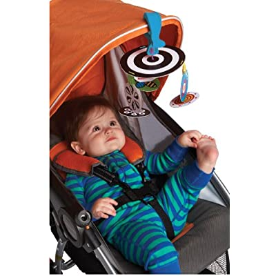 Manhattan Toy Wimmer-Ferguson Infant Stim Mobile to Go Travel Toy: Toys & Games