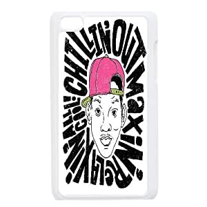 {Funny Quote Series} Ipod Touch 4 Case Typography Chillin Out Maxin, Anti-Slip Case Yearinspace - White