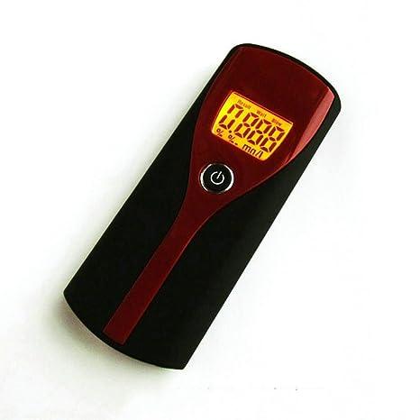 Lanlan Mini Alcoholímetro Digital portatil Detector profesional del analizador del probador del alcohol con l