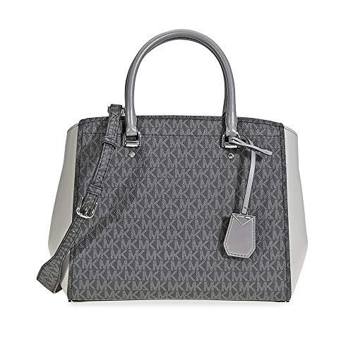 Michael Kors Benning Signature Logo Print Tote Bag - Grey ()