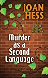 Murder As A Second Language (A Claire Malloy Mystery)
