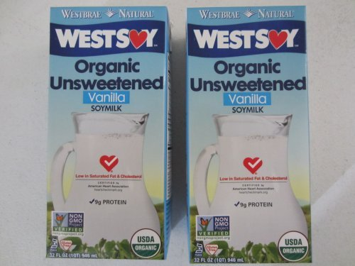 Westsoy Soymilk Unswt Vnla Org by West Soy