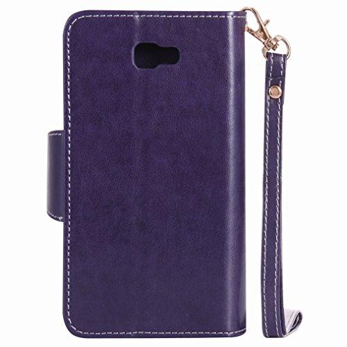 Repujado púrpura Prime Tarjetas galaxy Para Cáscara Piel Billetera Galaxy Estilo Samsung Chica J7 On Yiizy Funda Nxt Pu Carcasa Ranura Cover Estuches Diseño Cuero Protector W4SzxnBwqw