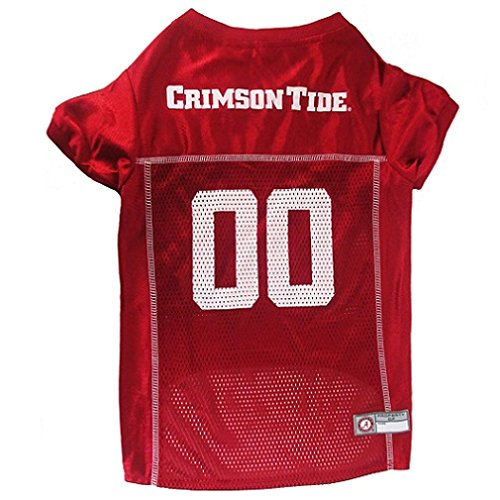 ALABAMA CRIMSON TIDE Dog Jersey ★ ALL SIZES ★ Licensed NCAA (Medium) (College Football Costumes Halloween)