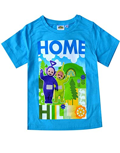 Teletubbies Official Licensed Boys Short Sleeve Top Tshirt Age 3-4 Years -