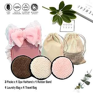 Juego de microfibra reutilizable (paquete de 3), toallitas ...