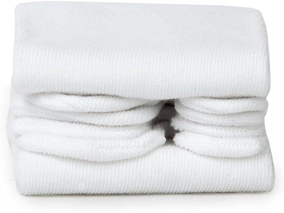 WOVELOT Calcetines Blancos Unisexos Calcetin japones para Kimono Zuecos Chanclas Calcetin de algodon de dedo pulgar separado: Amazon.es: Ropa y accesorios