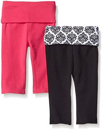 Yoga Sprout Unisex-Baby Yoga Pants, 2 Pack