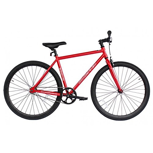 Micargi RD818-53-RED-BK Unisex Road Bike44; Red & Black by Micargi