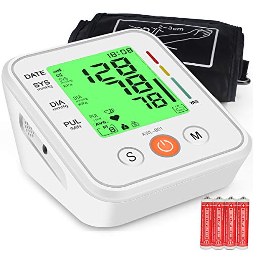 Blood Pressure Monitor Upper Arm Cuff 3-Color
