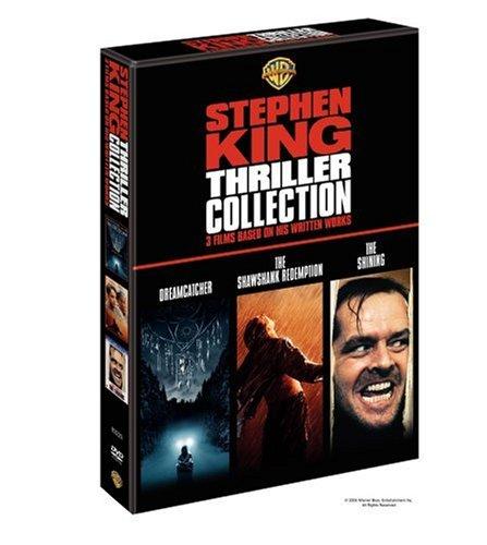 Stephen King Thriller Collection  The Shining  Shawshank Redemption  Dreamcatcher