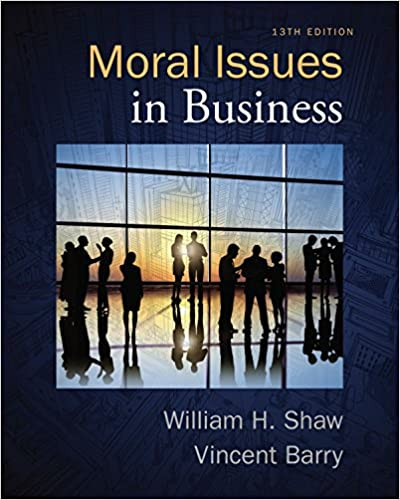 Amazon moral issues in business ebook william h shaw vincent moral issues in business 13th edition kindle edition by william h shaw fandeluxe Gallery